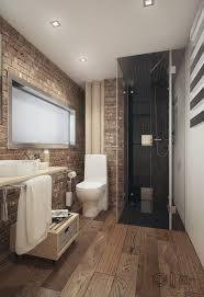 masculine bathroom ideas bathroom bathroom with exposed brick walls and floor ideas 19
