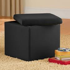 Microsuede Storage Ottoman Microfiber Storage Ottoman 16 88 Fabulessly Frugal