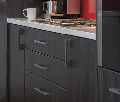 square slim bar handle kaboodle kitchen