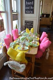Easter Restaurant Decorations by 1932 Best Spring Tablescapes Images On Pinterest Easter Ideas