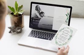 wedding invitations app free wedding websites app to match your wedding invitations the