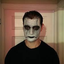 the crow makeup