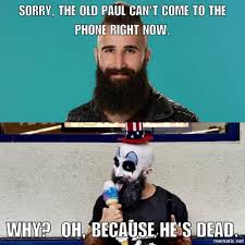 Old Phone Meme - sorry the old paul can t come to the phone right now bigbrother
