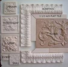 decorative tile inserts kitchen backsplash cumbria in antique bronze by sonoma tilemakers for the home