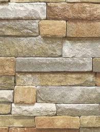 Stone Brick Natural Stacked Stone Brick Vinyl Self Adhesive Peel Stick