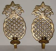 Pineapple Wall Sconce Candles Collection On Ebay