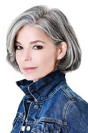 tame gray hair that sticks up amazing gray hairstyles we love southern living