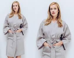 robe de chambre kimono pour femme peignoir kimono en pour femme becquet