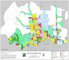 Texas City Map Zoning City Of Leander Texas