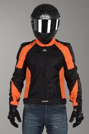 vented motorcycle jacket acerbis ramsey my vented jacket orange now 11 savings xlmoto