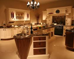 White Traditional Kitchen Design Ideas by Appealing Design Ideas Of Traditional Kitchen With Curved Shape