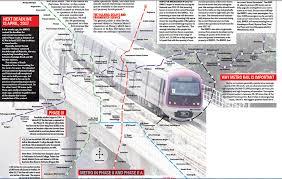 Bangalore Metro Map Phase 3 by Metro Rail On Loss But On Track Bangalore Mirror