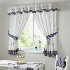 kitchen curtains blue gingham kitchen curtains blue green