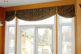 cabinet door valances patio door window treatment using a simple