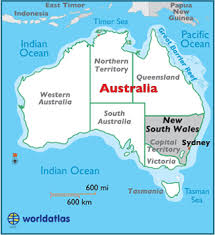 map of australia with cities and states new south wales map geography of new south wales map of new