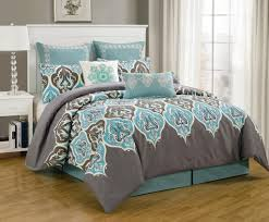 Teal And Grey Bedding Sets Teal Grey King Size Bed Sheets With 8 Comforter Sets And