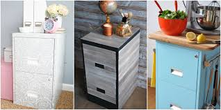 gray wood file cabinet 9 filing cabinet makeovers new uses for filing cabinets
