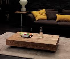 Wohnzimmertisch Ahorn Finebuy Couchtisch Massiv Holz Sheesham 110 Cm Breit Wohnzimmer
