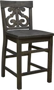 counter height desk chair magnussen bellamy deep weathered pine counter height desk chair