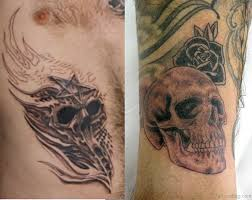 46 wonderful skull tattoos for shoulder