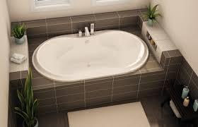 Oval Bathtub Sboo 4272 Drop In Bathtub Aker By Maax