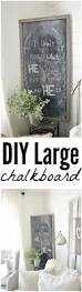 Chalkboard Home Decor by Diy Large Chalkboard Love The Home You Have Liz Marie Blog