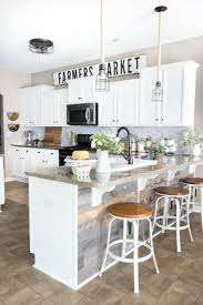 discover 10 new ways to decorate above your kitchen cabinets
