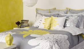 bedding set great yellow grey and white baby bedding trendy