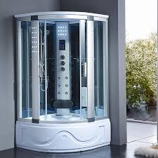 Steam Shower Bathtub 1001now 8002 A Corner Steam Shower Enclosure With Hydro Massage