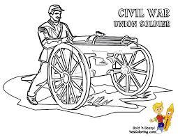 civil war coloring pages print coloring pages