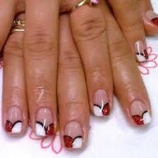 image detail for falling leaves nail art design nail art