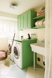 Laundry Room Cabinet With Sink Green Laundry Room Cabinets Vintage Laundry Room
