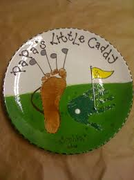 paint your own pottery custom order golf themed prints for