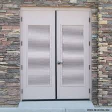Vented Exterior Door Hollow Metal Doors With Louvers Doors With Vents
