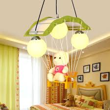 ceiling light toys for babies teddy bear l kindergarten children chandelier decorative cartoon