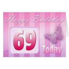 69th birthday card great grand greeting cards zazzle