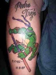 mutant ninja turtles donatello tattoo