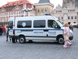 old renault file prague police renault master in old town square jpg