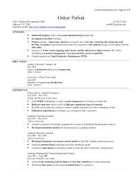 engineering resume summary industrial engineering resume free resume example and writing we found 70 images in industrial engineering resume gallery