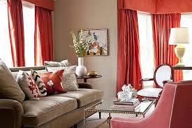 Red Orange Curtains Curtains Orange Curtains For Living Room Decorating Orange Living