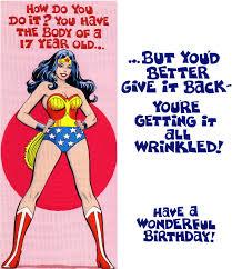 vintage wonder woman birthday card wonder women u0026 super girls