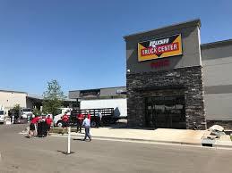 volvo truck center near me denver colorado gets brand new rush truck center
