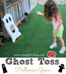 halloween game ideas for kids party ghost toss halloween game simple to make using foam core board