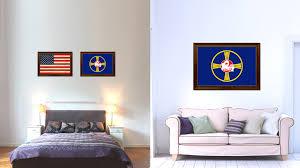 omaha city nebraska state flag home decor office wall art