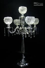 Crystal Wedding Centerpieces Wholesale by 2016 New Crystal Candelabras Candelabrum Crystal Candle Holder