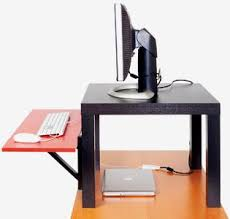 how to create a cheap diy standing desk