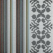 indoor mosaic tile wall glass geometric wallpaper by