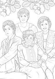 superb girls coloring book coloring page and coloring book