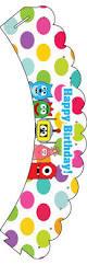 yo gabba gabba u2013 cupcake wrappers u2013 birthday printable