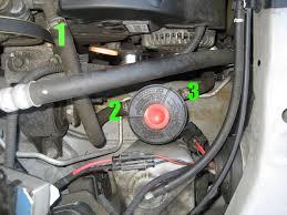 2007 honda odyssey power steering which hose for power steering fluid flush